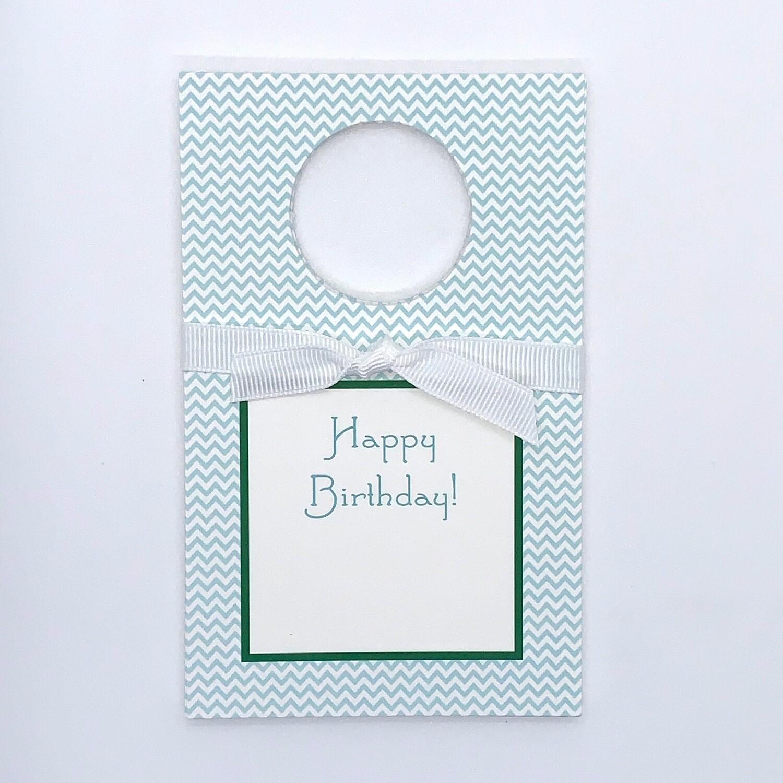 Wine Tags - Happy Birthday
