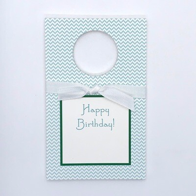 Wine Tags - Happy Birthday