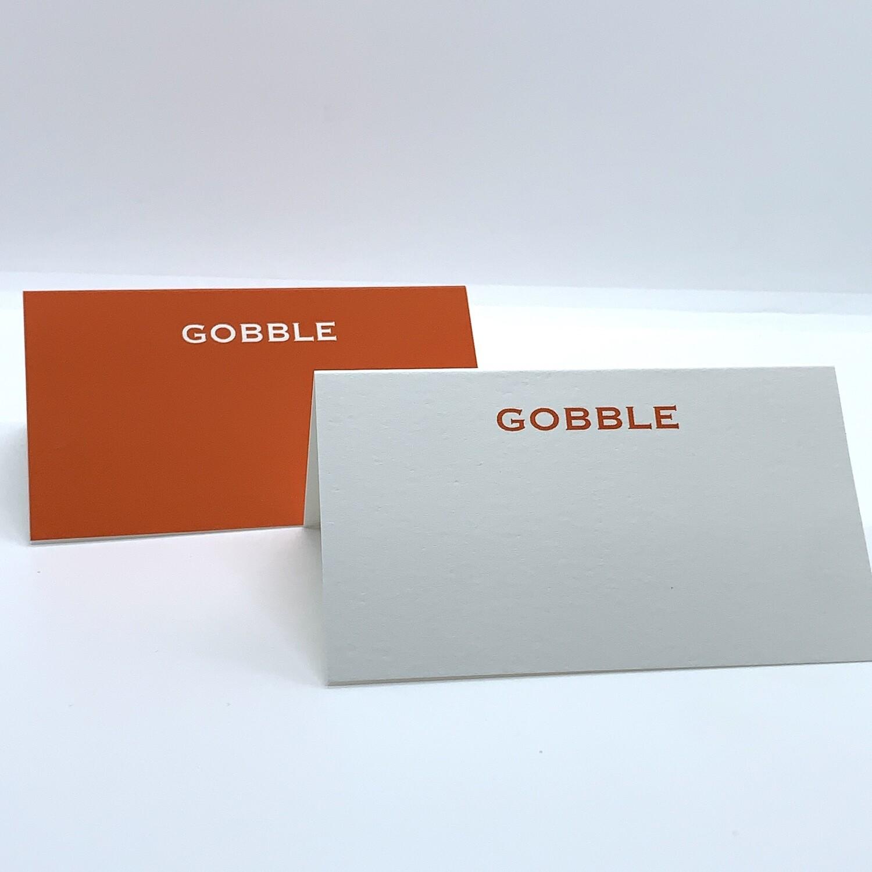 Gooble Place Card