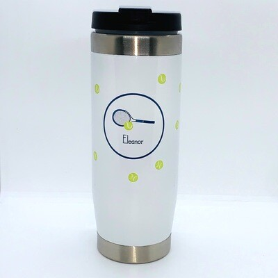 Travel Tumbler - Tennis