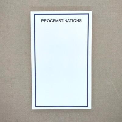 Procrastinations