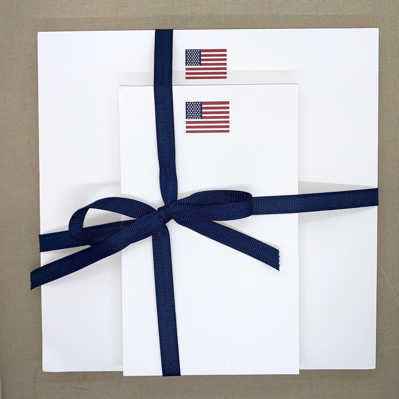 Flag Notepad Set