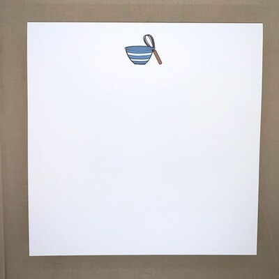 Chunky Notepad - Whisk