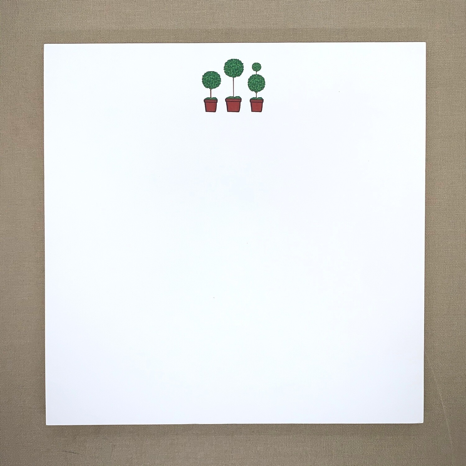 Topiary Trio Notepad