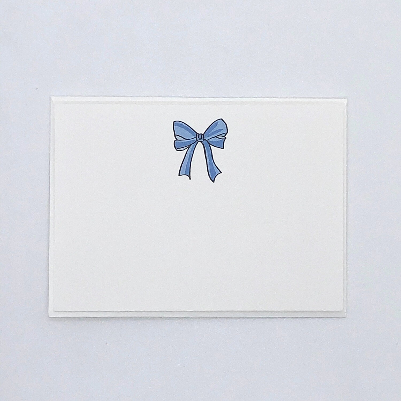 Bow, Blue