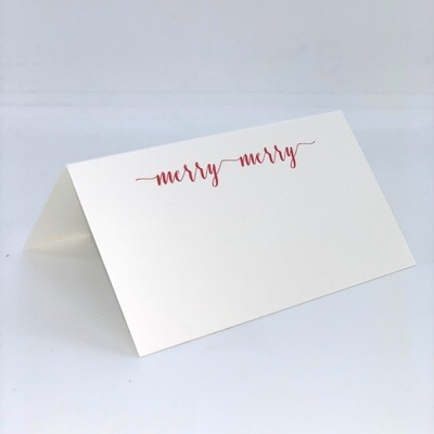 Merry Place Card