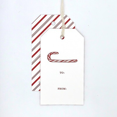 Gift Tag - Candy Cane