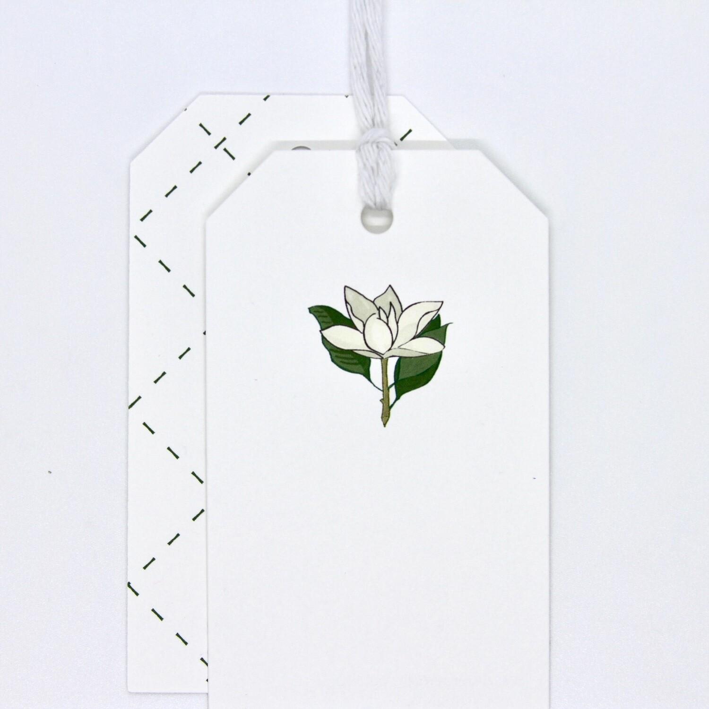 Gift Tag - Magnolia
