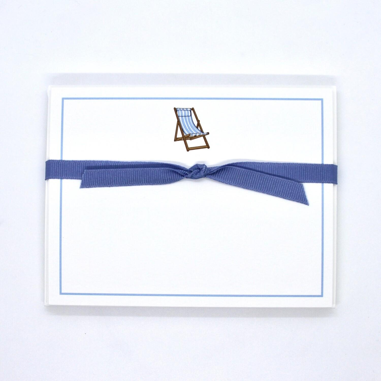 Beach Chair, Blue