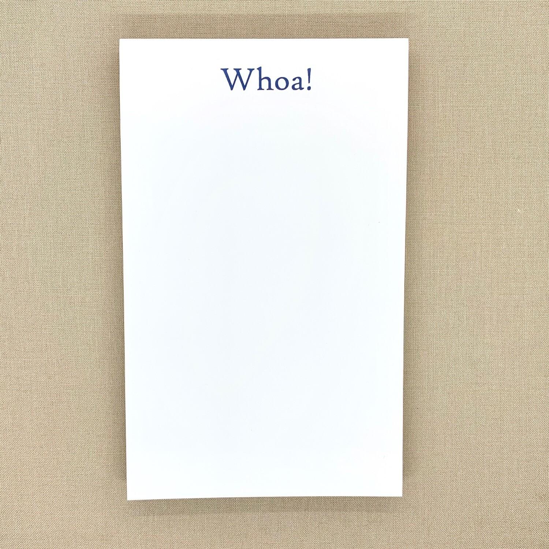 Whoa Notepad