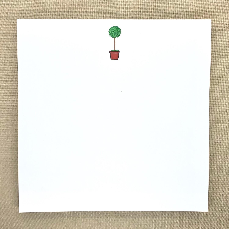 Topiary Notepad