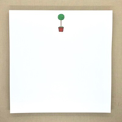 Topiary Notepad