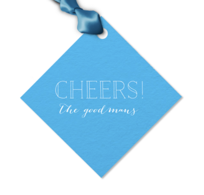 Gift Tag, Cheers