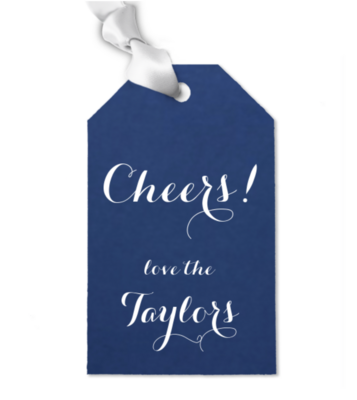 Gift Tag, Cheers 3