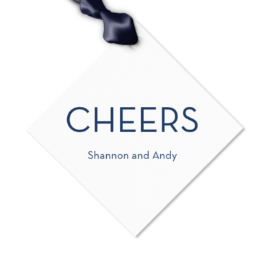 Gift Tag, Cheers 5