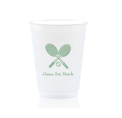 Cups -  Tennis (Game, Set, Match)