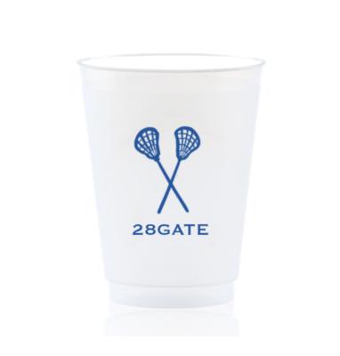 Custom Shatterproof Cups - Lacrosse