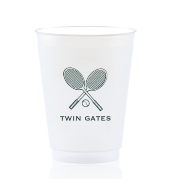 Custom Shatterproof Cups - Tennis