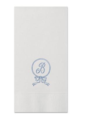 Custom Guest Towel - Ribbon Circle 1