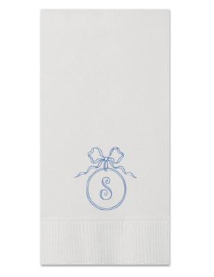 Custom Guest Towel - Ribbon Circle 2