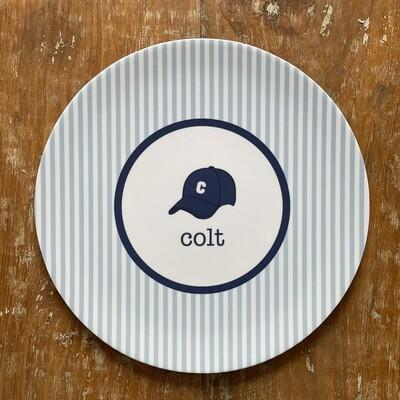 Custom Plate / Bowl - Ball Cap