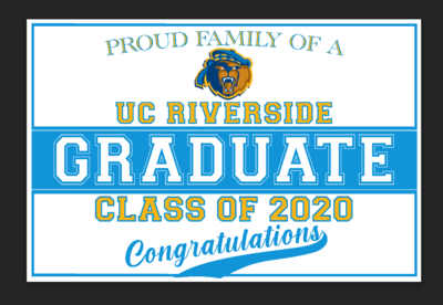 Yard Sign- Graduation