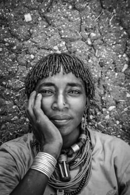 Alfredo Felletti, donna della popolazione Hamer, Etiopia