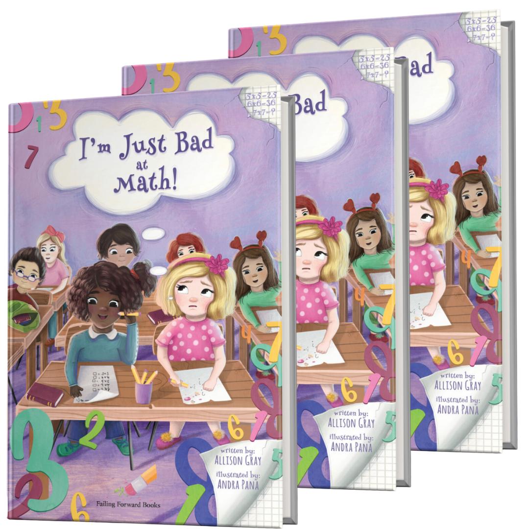 Bundle Three: I'm Just Bad at Math! (3 Books)