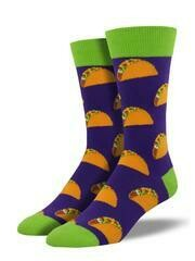 Socksmith Tacos Purple