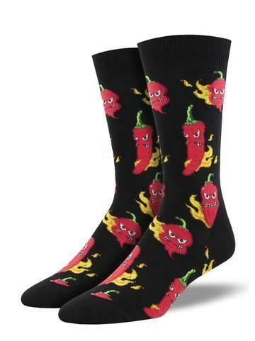 Socksmith Hot Stuff Black