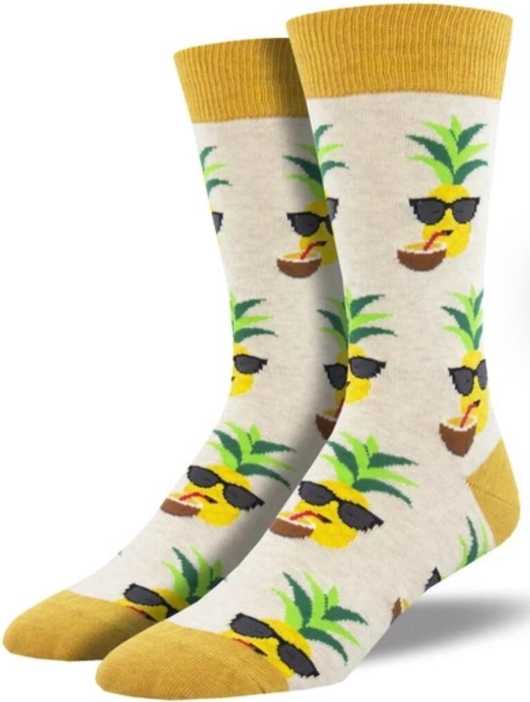Socksmith Aloha Pineapple