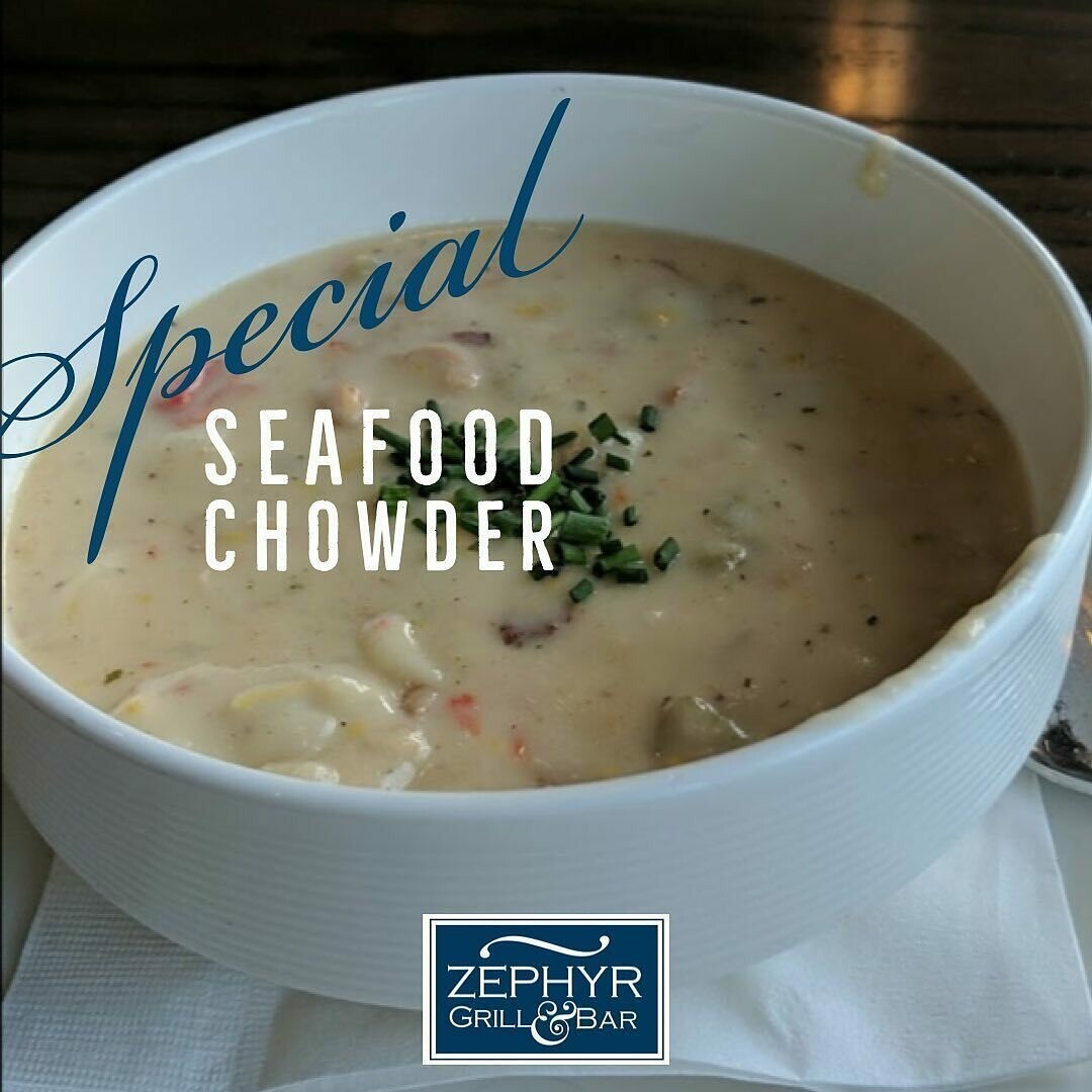 Ceasar Salad & Seafood Chowder for 2