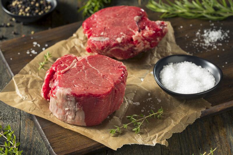Choice Filet Steak Box