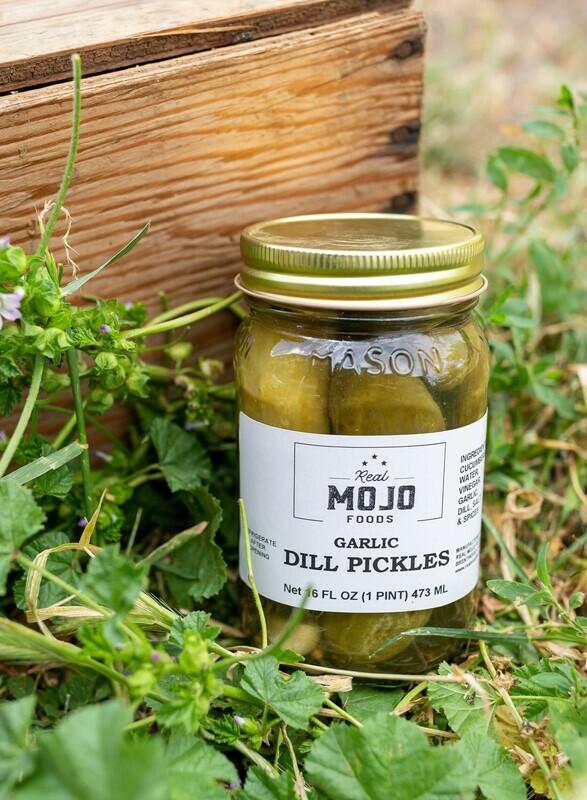 Mojo Pickles Whole Dill  Garlic