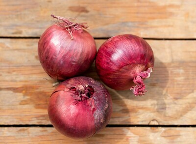Onions Red large Organic/each