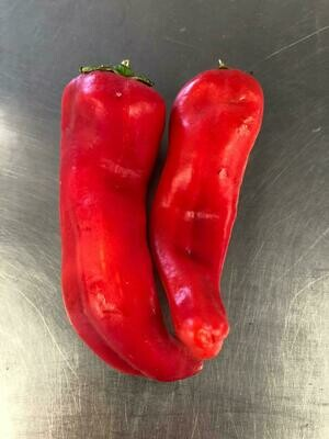 Peppers Italian Sweet Red Organic