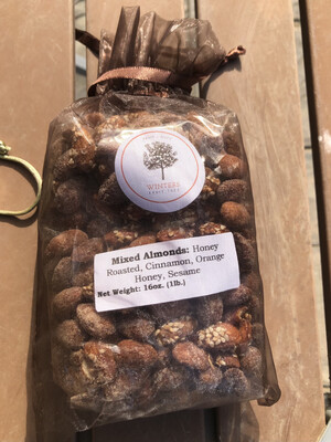 Nuts Mixed Almond Flavors Gift Bag/ 1lb