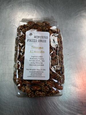 Nuts Almonds Sesame Seed 1 lb bag