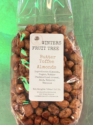 Nuts Almonds Butter Toffee 1 lb bag