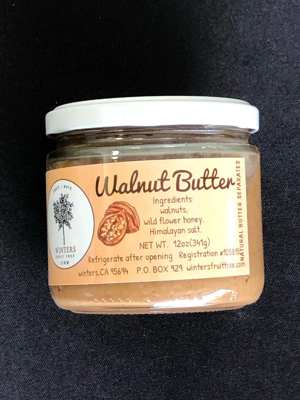 Nut Butter Walnut 12 oz