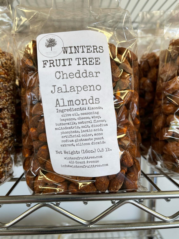 Nuts Almonds Jalepeno Cheddar/1 lb bag
