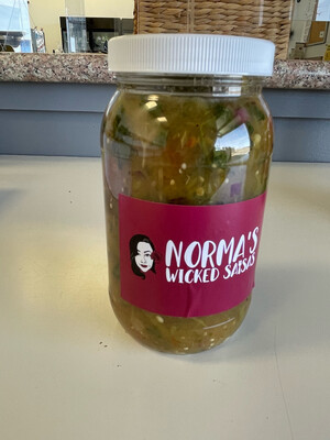 Norma's Wicked Salsa Green (Med)