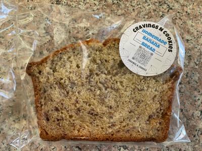 Banana Bread Slices CravingsNCookies/slice