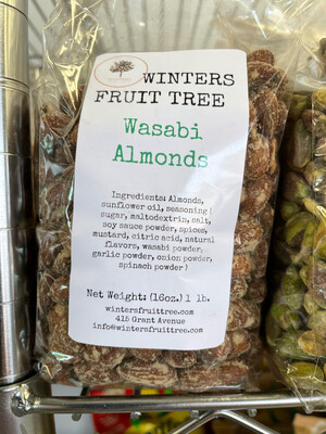Nuts Almonds Wasabi Flavored 1 lb