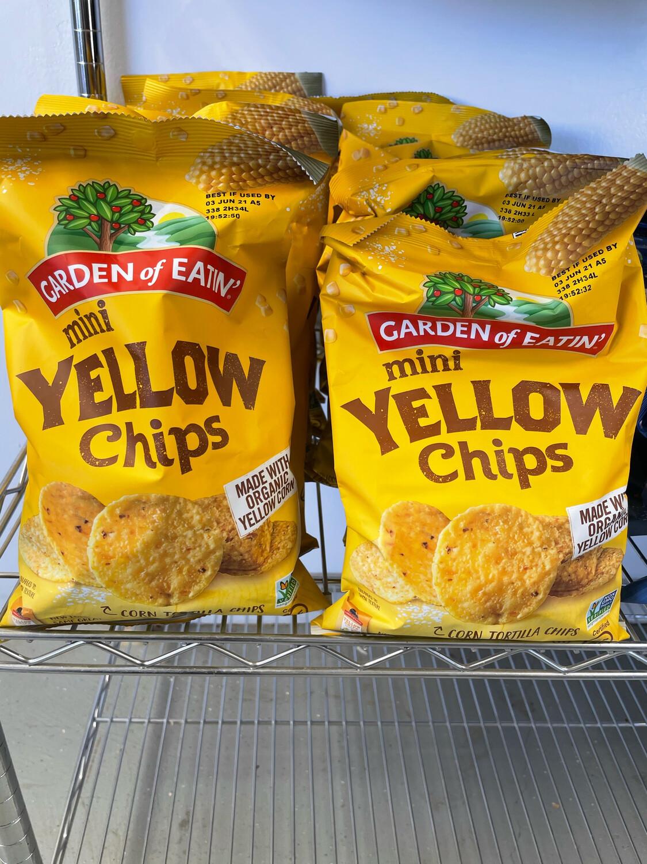 Tortilla Mini Chips Garden of Eatin' 7.5 oz bag