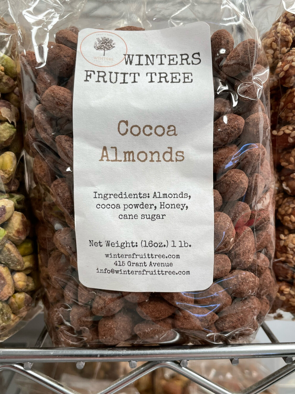 Nuts Almonds Cocoa 1 lb