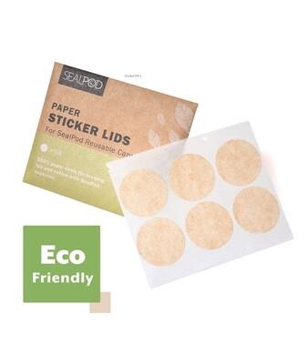 SealPod Filter Sticker Lids