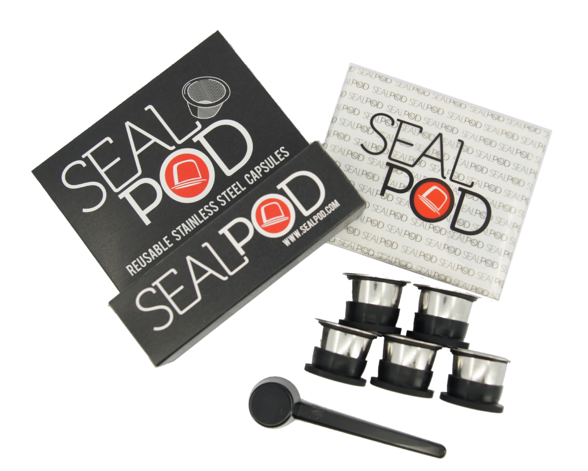 SealPod 5pack with stickers (Free Shipping!)