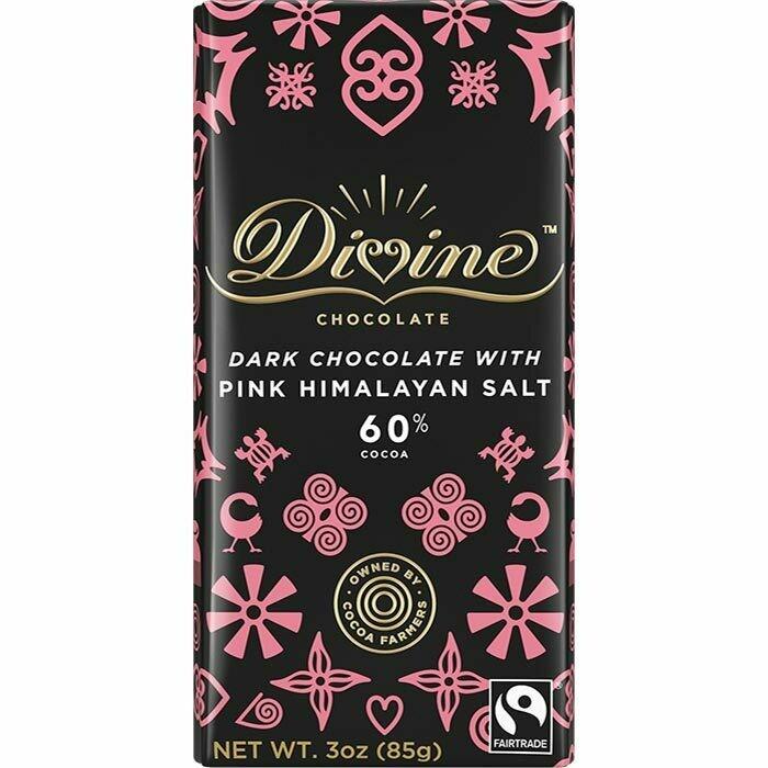 Dark Chocolate Pink Himalayan Salt
