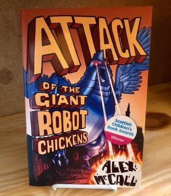 Attack of the Giant Robot Chickens - B0087